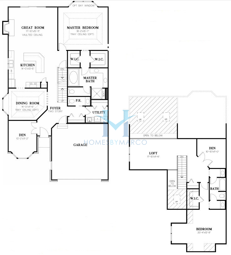 Devonshire model in the ginger woods subdivision in aurora for Devonshire floor plan