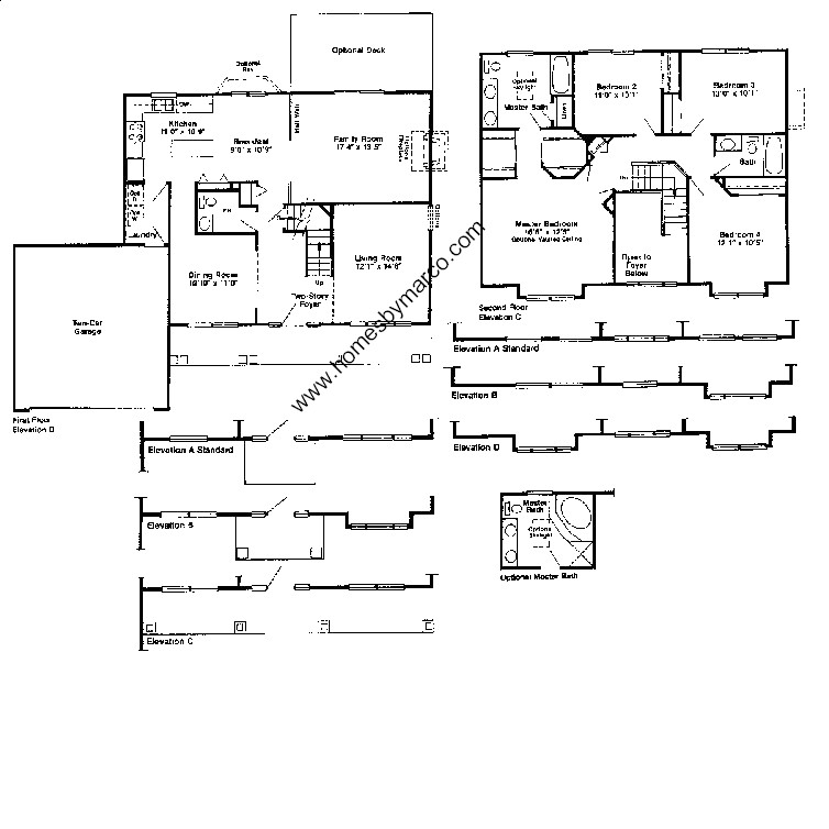 Devonshire model in the hunters ridge subdivision in for Devonshire floor plan