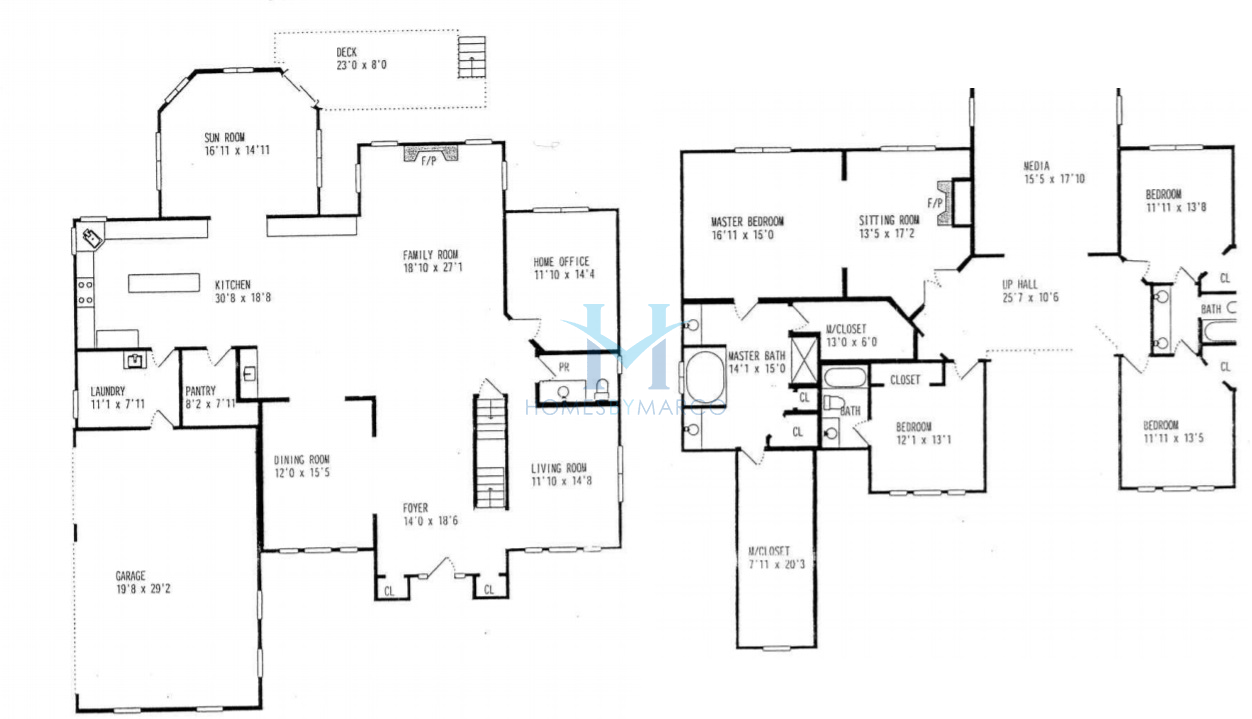 Devonshire model in the kings bridge subdivision in for Devonshire floor plan