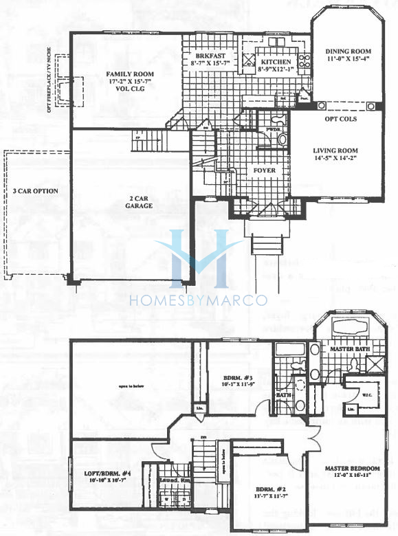 Devonshire model in the riverwalk subdivision in port for Devonshire floor plan
