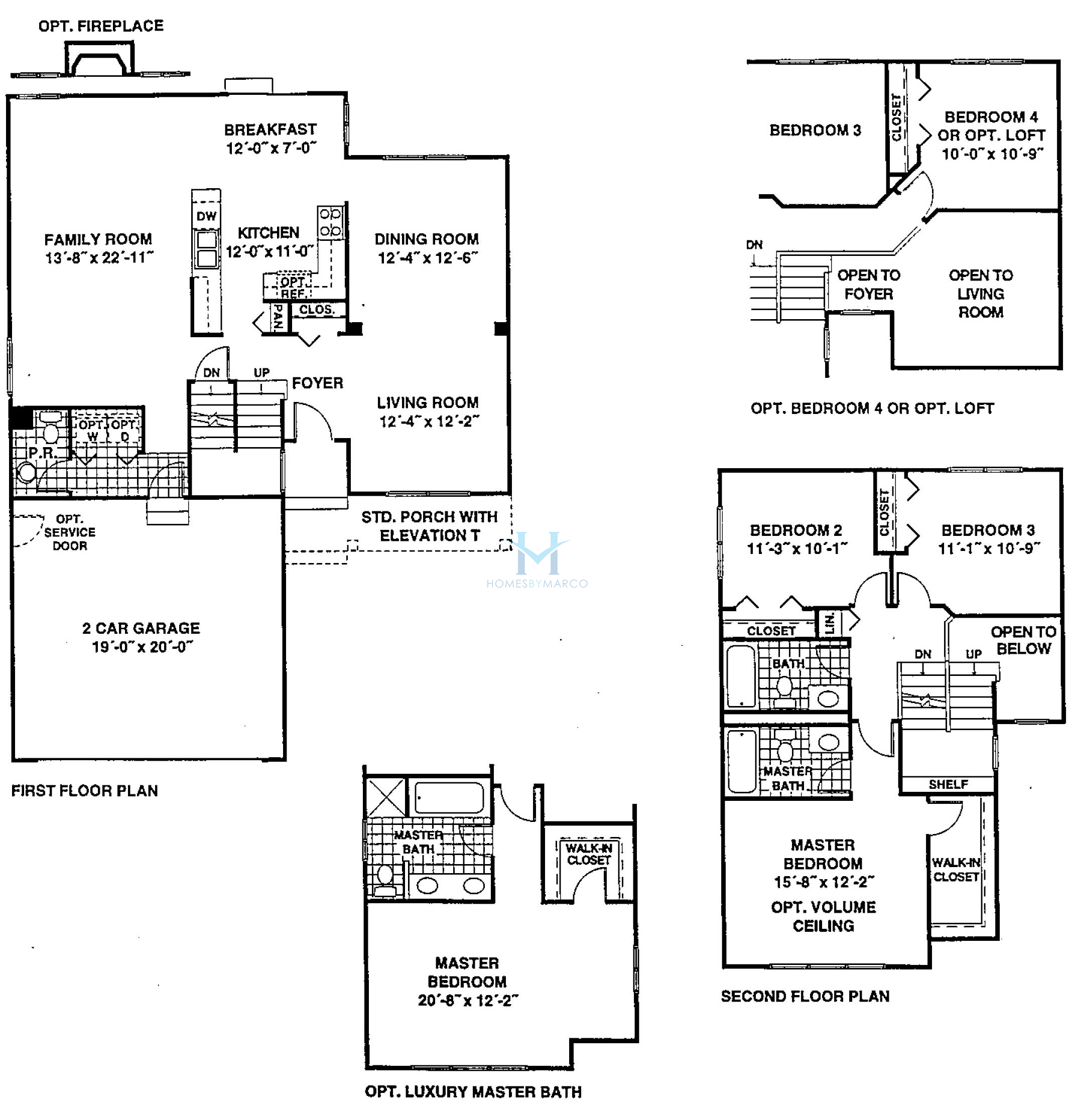 Devonshire model in the sutton on the lake subdivision in for Devonshire floor plan