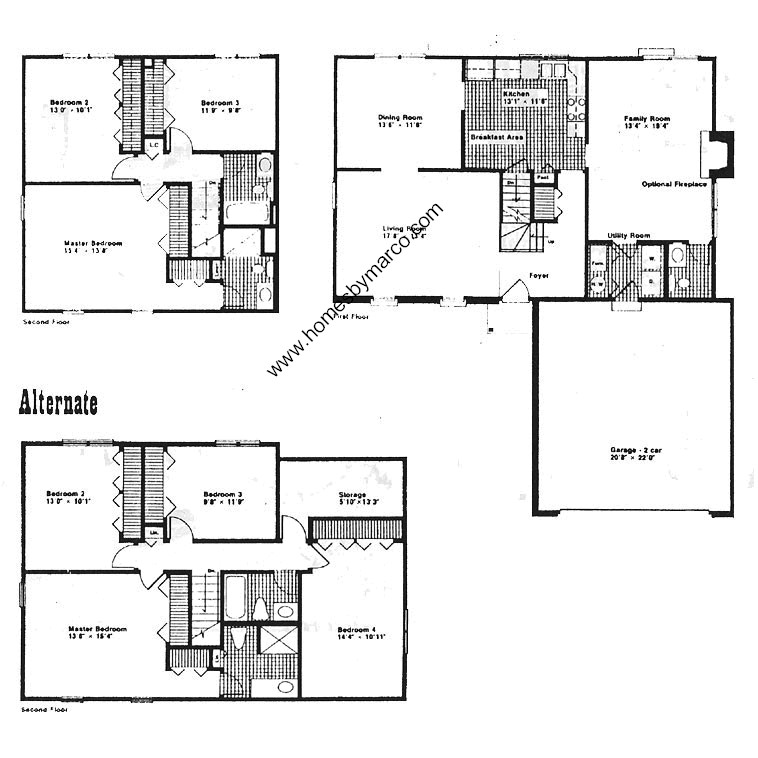 Devonshire model in the crossings subdivision in buffalo for Devonshire floor plan