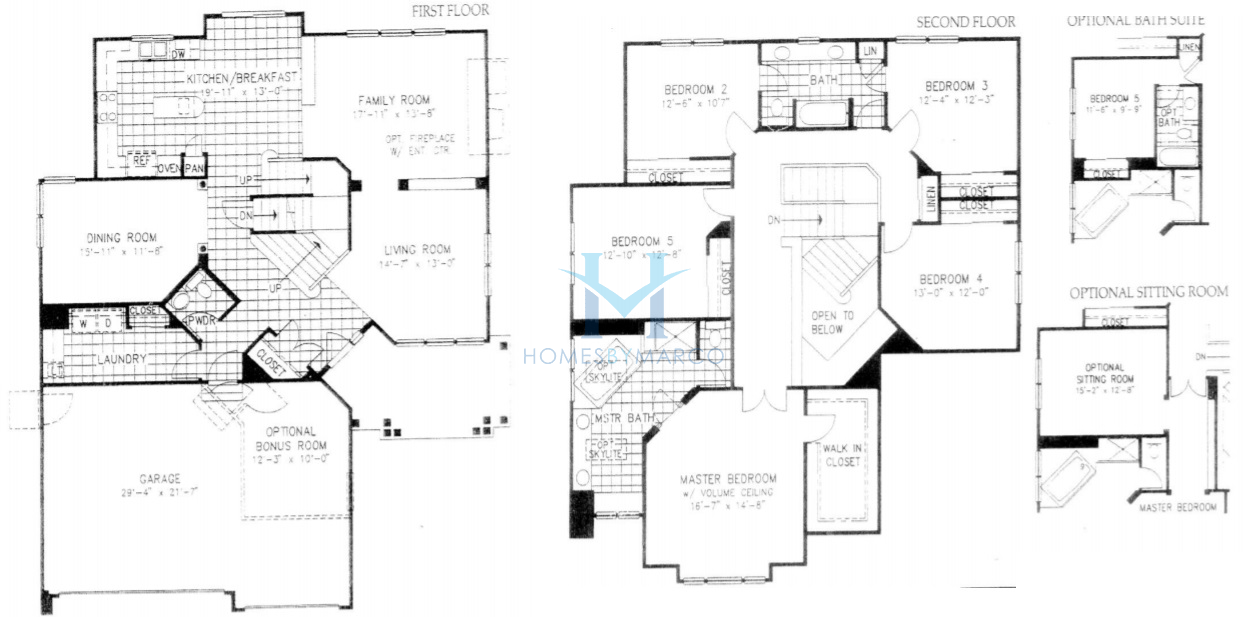 Devonshire model in the thorngate subdivision in for Devonshire floor plan