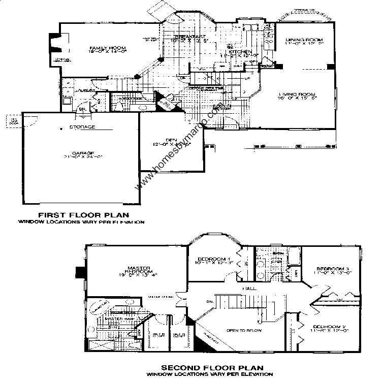 Devonshire model in the timber creek subdivision in for Devonshire floor plan