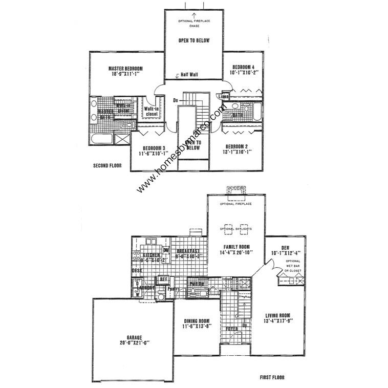 Durham house model in the estates of eastlake subdivision for Eastlake house plan