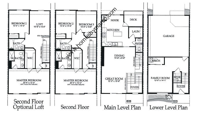 Fenwick Model In The Meadow Wood Subdivision In Lake