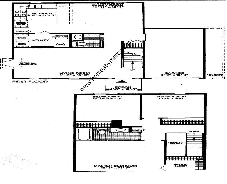 Homes By Marco Floor Plans: Brookdale Subdivision In Naperville, Illinois, Homes For
