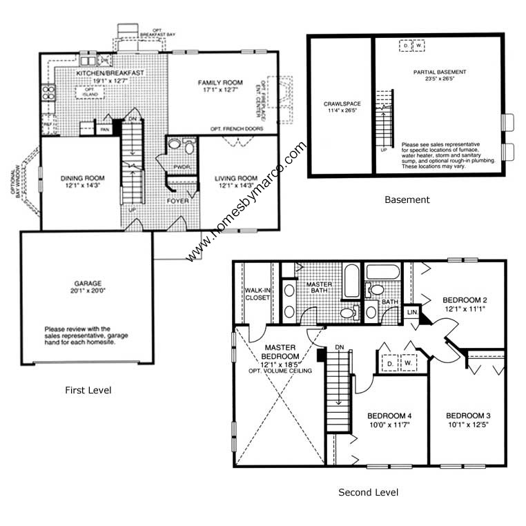Lakewood ridge subdivision in bolingbrook illinois homes Model homes floor plans