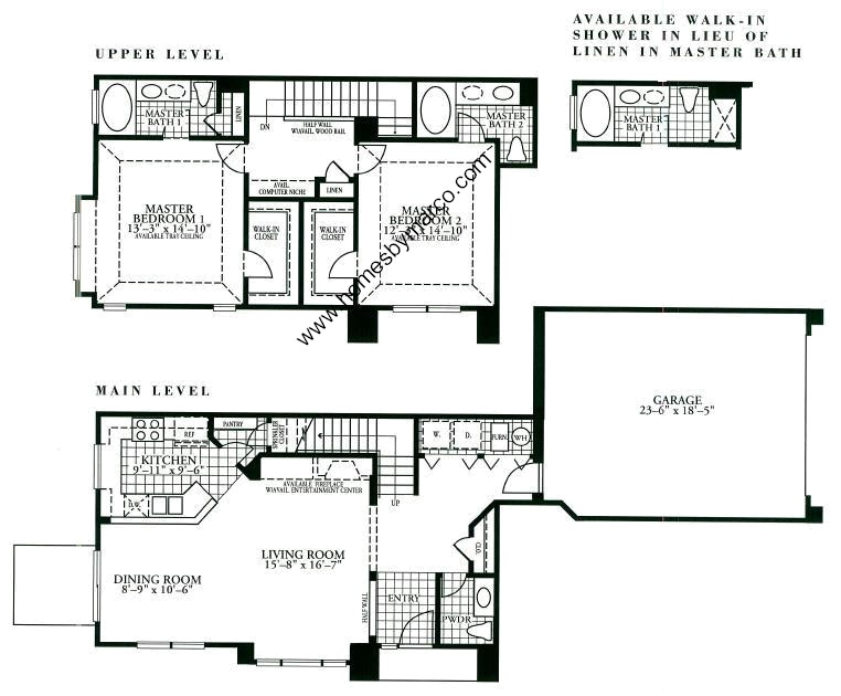 Holiday Home Builders Floor Plans: Griffin Model In The Holiday Park Subdivision In Fox Lake
