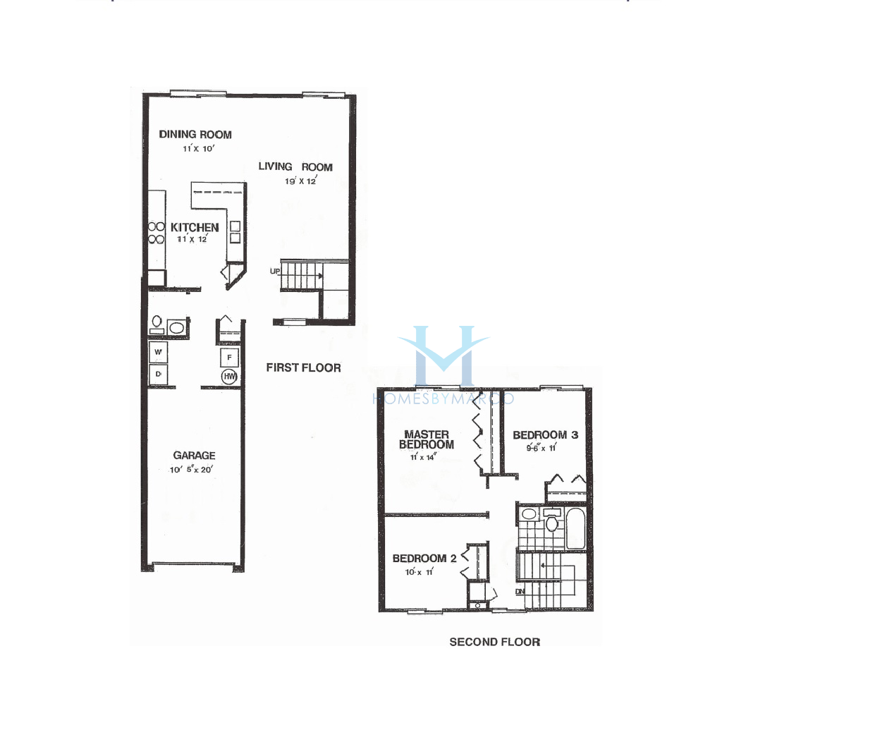 Homes By Marco Floor Plans: Hartford Model In The Sussex Square Subdivision In