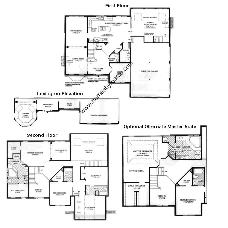 Harvard model in the Bowes Creek Country Club subdivision ...