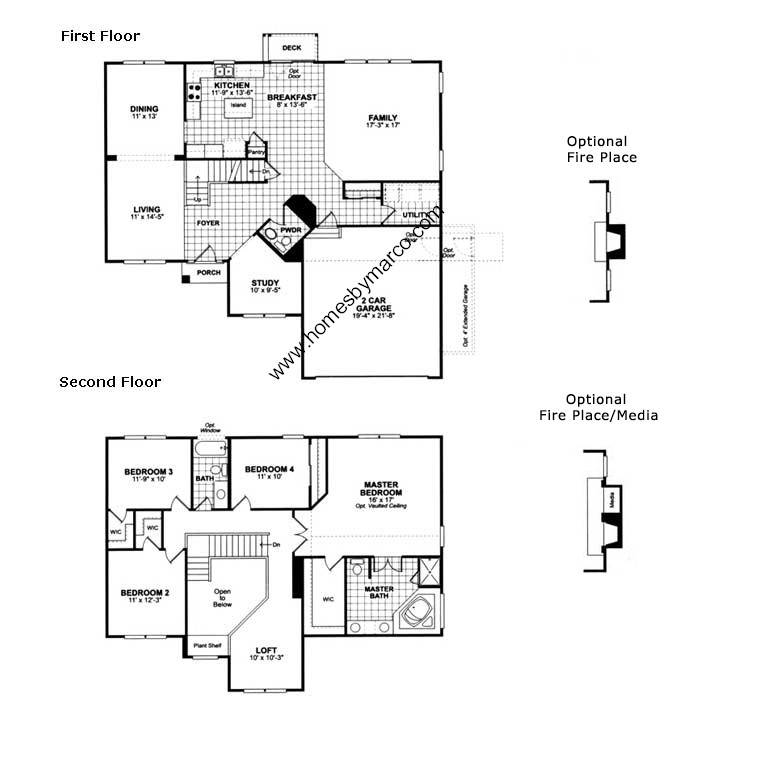 Ryland homes hampton floor plan House list disign