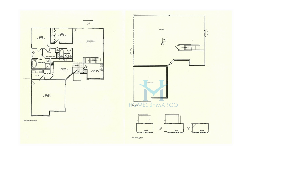 Homes By Marco Floor Plans: Patriot Estates Subdivision In McHenry, Illinois, Homes