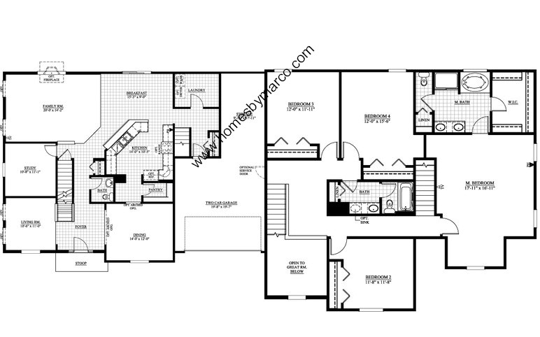 Ryan Homes Jefferson Floor Plan Home Design And Style