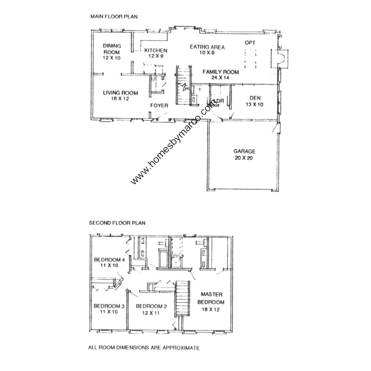 Juniper model in the tangueray meadows subdivision in for Juniper floor plan