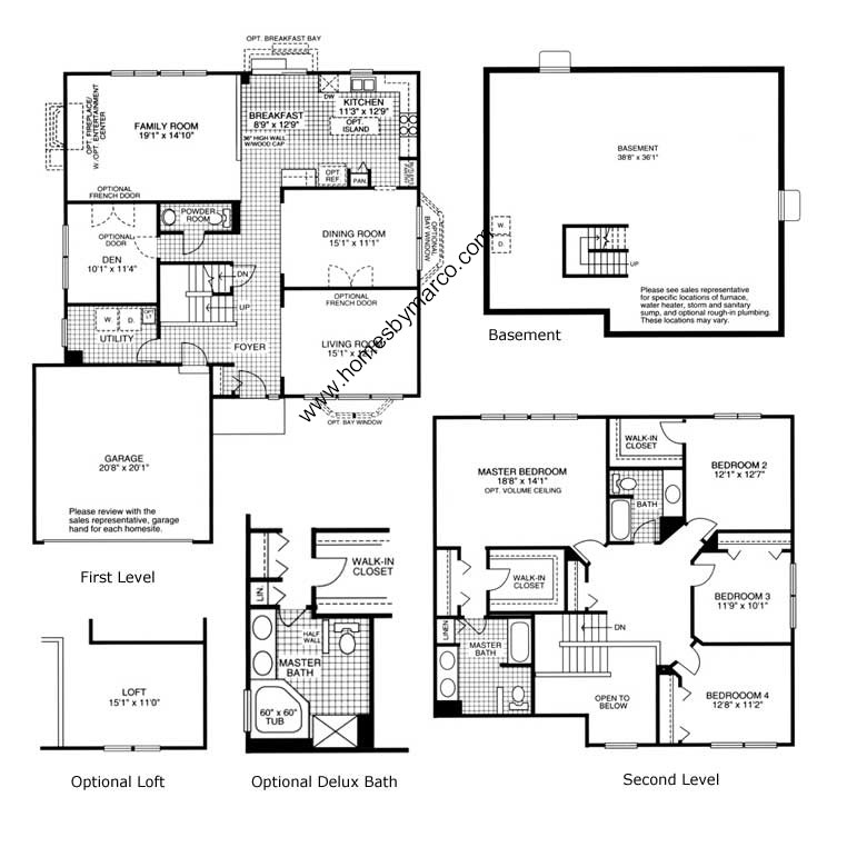 Lafayette Model In The Lakewood Ridge Subdivision In