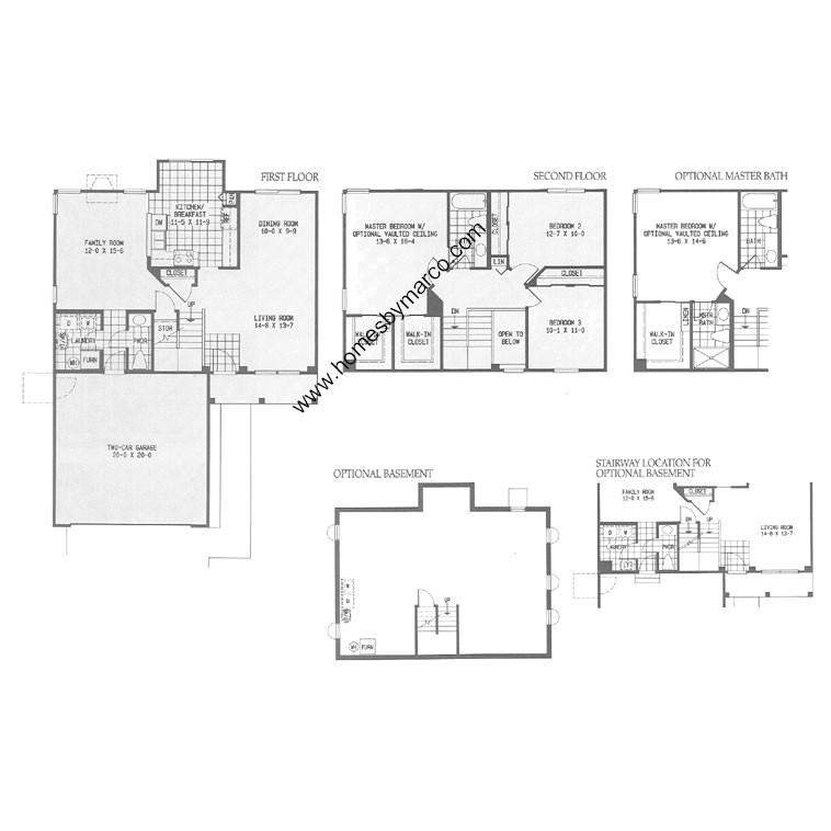 Deer Valley Mobile Home Floor Plans: Lenox Floor Plan Lenox Model In The Silver Oaks