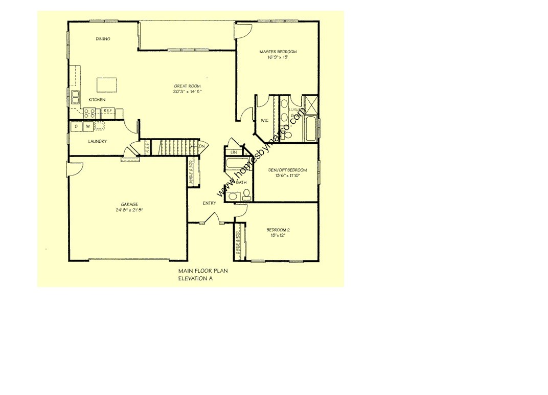 Lexington Model In The Liberty Trails Subdivision In
