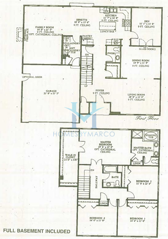 Liberty model in the park place subdivision in oswego for Park place floor plans