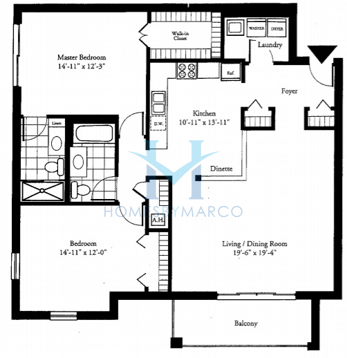 Renaissance in niles illinois at 7011 7091 w touhy for Renaissance homes floor plans
