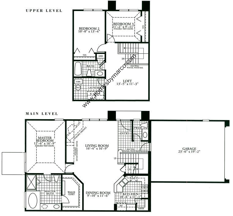 Macarthur model in the holiday park subdivision in fox for Holiday home builders floor plans