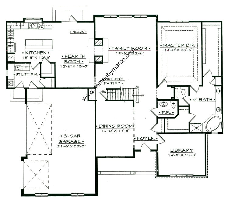 Madison first floor model in the prairie creek for Prairie floor plans