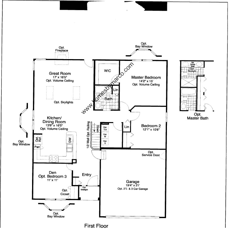 Magnolia model in the old renwick trail subdivision in - Magnolia homes floor plans ...