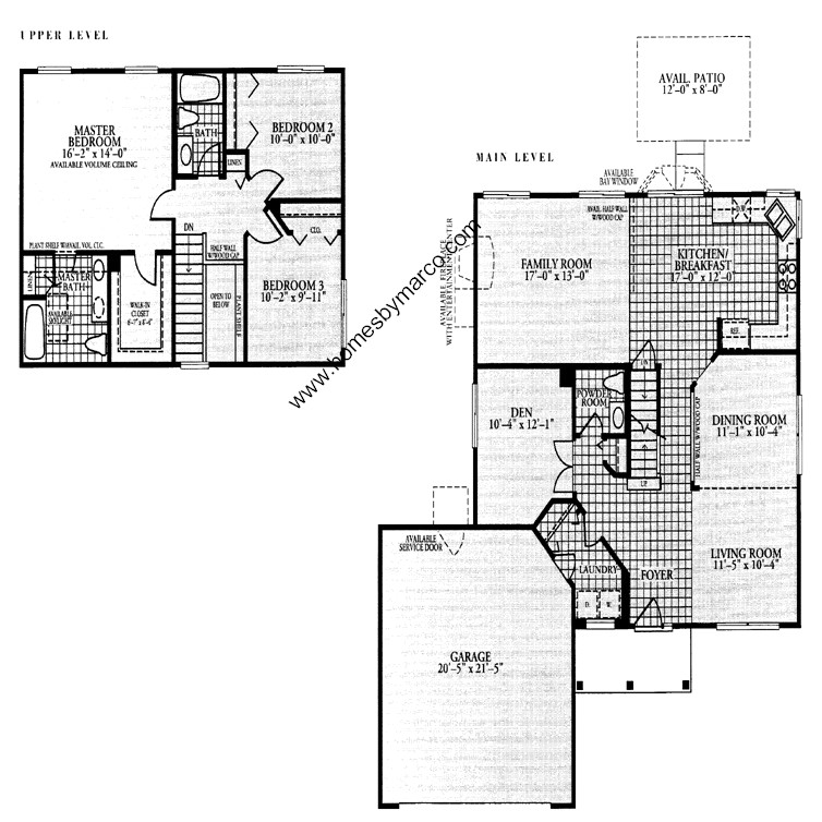 Magnolia model in the prairie pointe subdivision in round for Magnolia homes floor plans