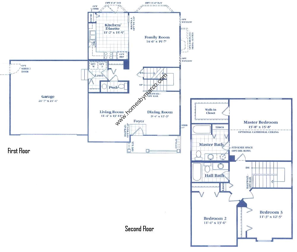 Neumann Homes Floor Plans Amberleigh Model In The
