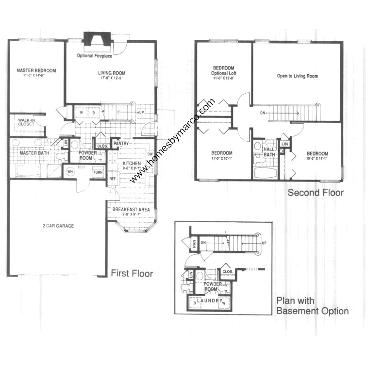 Winchester Master Suite: Meadow Model In The Winchester Trails Subdivision In