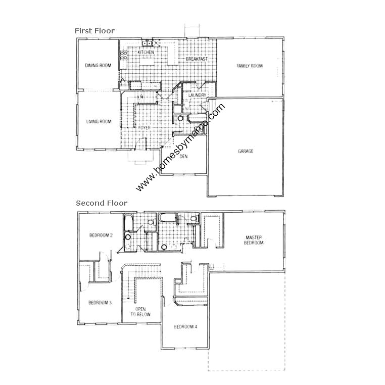 floor plans cabins model in the cider grove subdivision in huntley 11715
