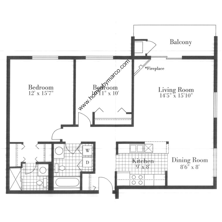Monarch model in the one bloomingdale place subdivision in for Monarch homes floor plans