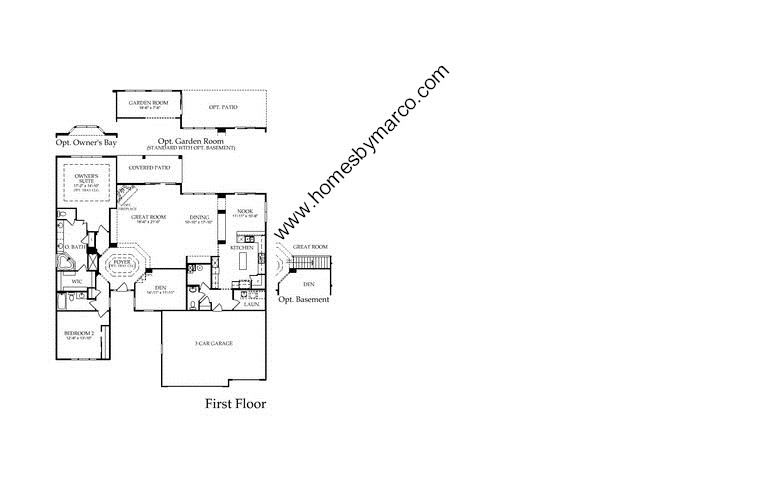 Monterey Model In The Edgewater By Del Webb Subdivision In