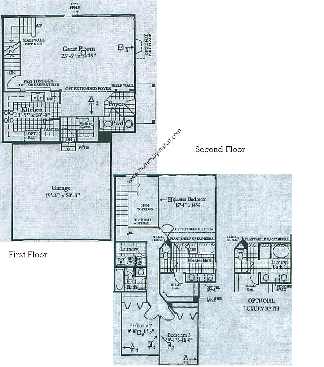 Nantucket model in the orchard hills subdivision in for Nantucket floor plan