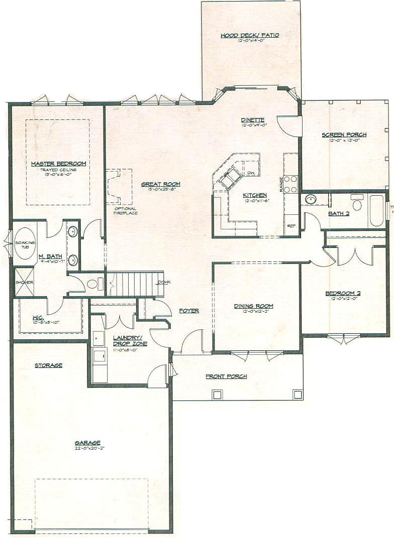 New Castle Model In The Henning Estates Subdivision In