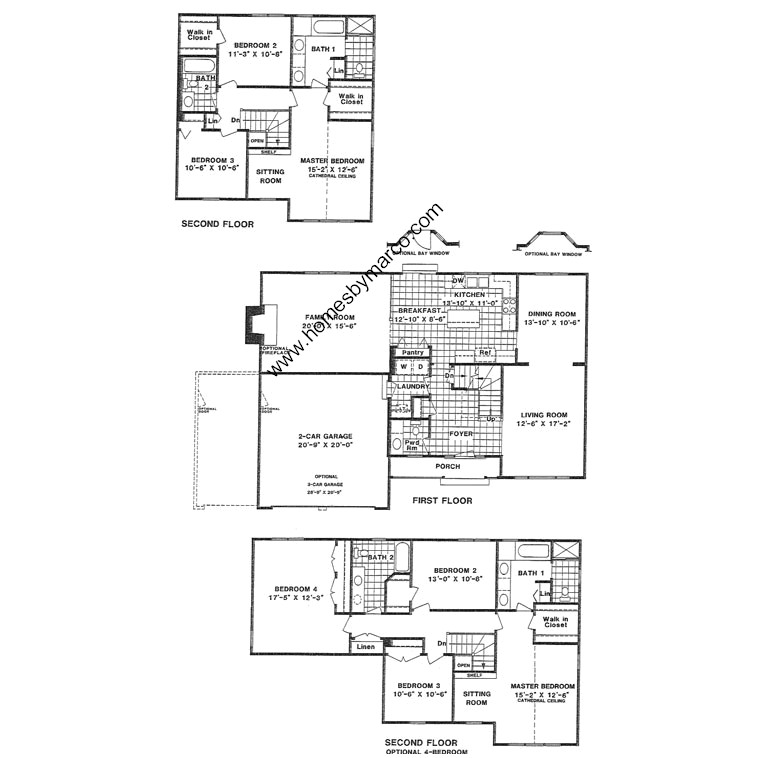 Newcastle model in the estates of eastlake subdivision in for Eastlake house plan