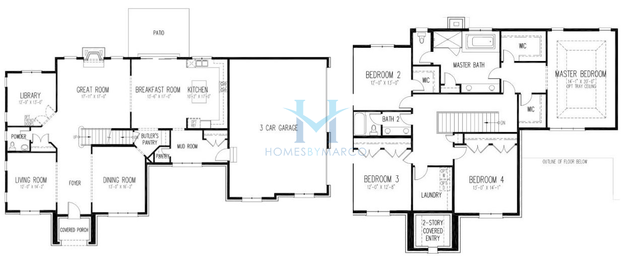 Homes Of Merit Floor Plans Rh3442a Homes Of Merit