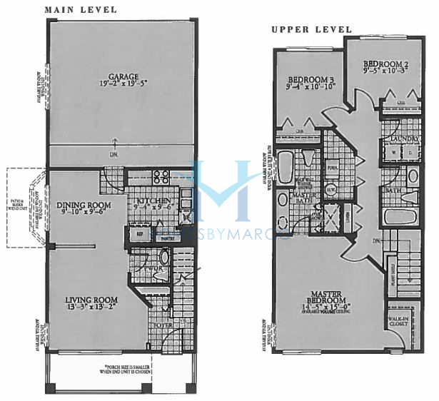 Olympia model in the holiday park subdivision in fox lake for Holiday home builders floor plans