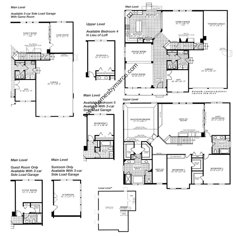 Oxford model in the cambridge knoll subdivision in for Oxford floor plan
