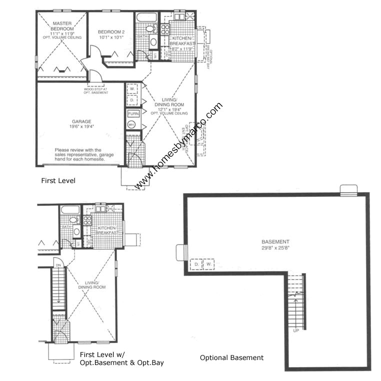 Oxford model in the lakewood creek subdivision in for Oxford floor plan