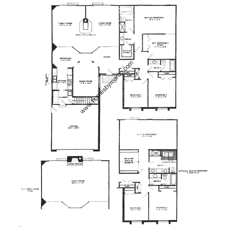 Oxford model in the carlyle subdivision in buffalo grove for Oxford floor plan