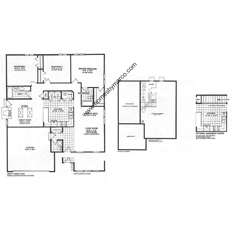 Oxford model in the college trail subdivision in grayslake for Oxford floor plan