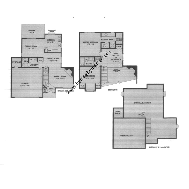 Oxford model in the fox chase of oswego subdivision in for Oxford floor plan