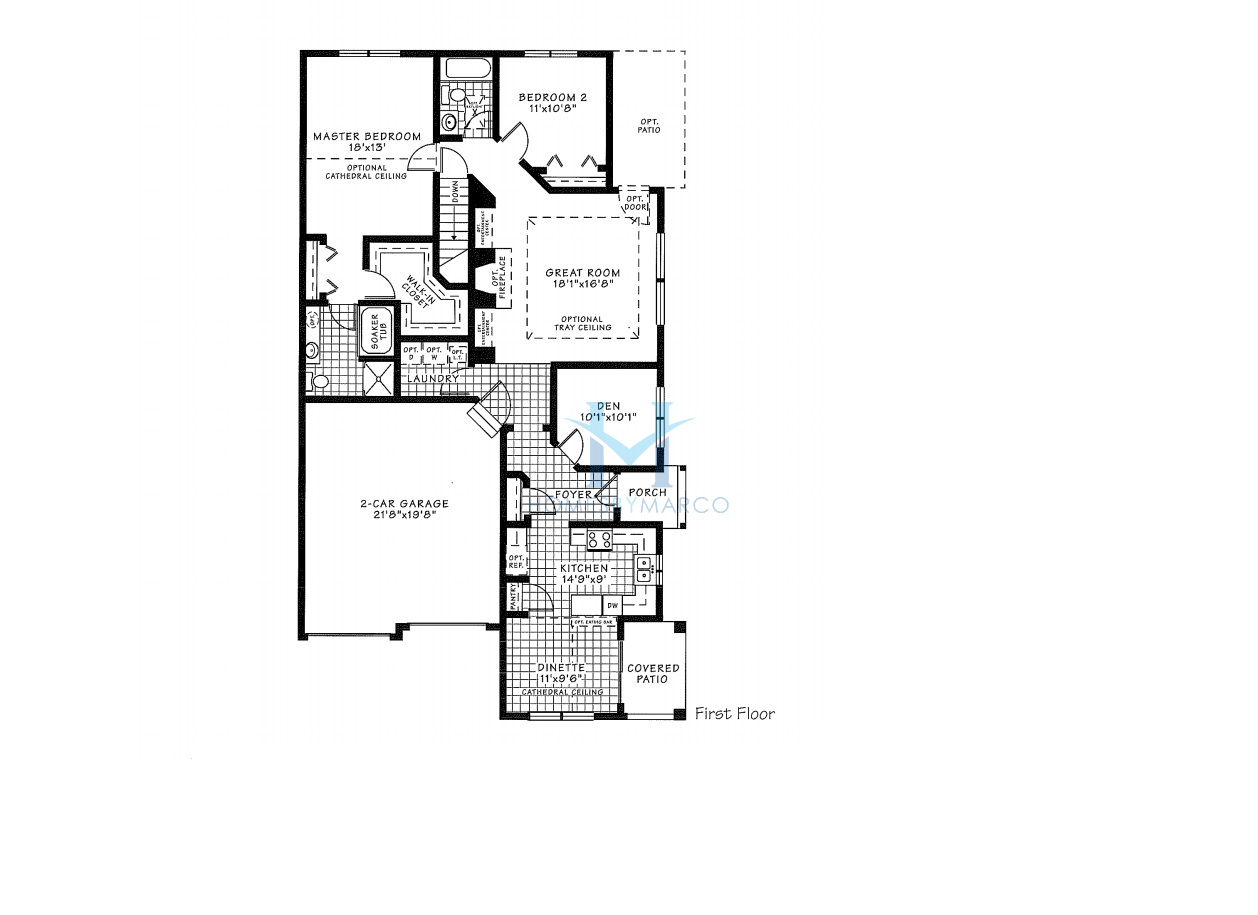 Oxford model in the grand reserve subdivision in algonquin for Oxford floor plan