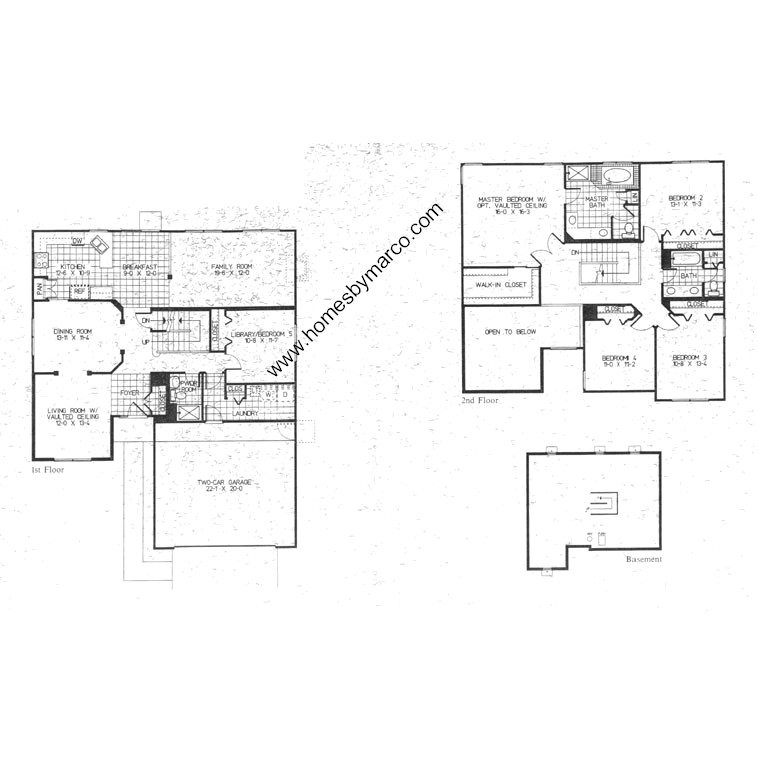 Oxford model in the hillcrest point subdivision in for Oxford floor plan