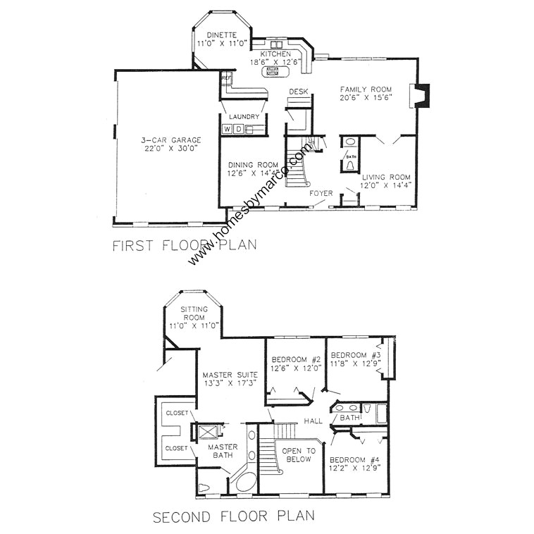 Oxford model in the woods of stonebrook subdivision in for Oxford floor plan