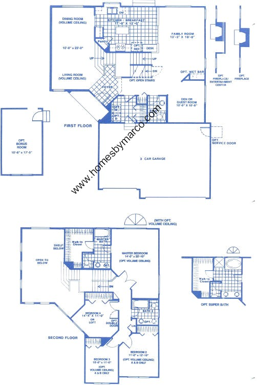 Queen anne model in the wildflower subdivision in for Queen anne floor plans