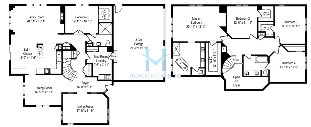 Rembrandt model in the thorngate subdivision in riverwoods for Rembrandt homes floor plans