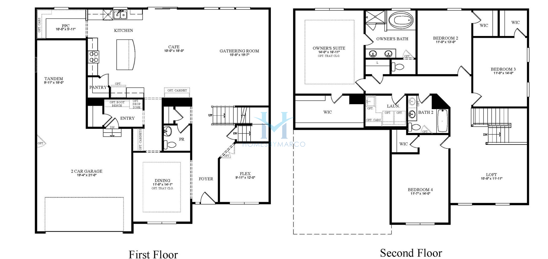 Riverton model in the Hawthorn Hills subdivision in Hawthorn Woods ...