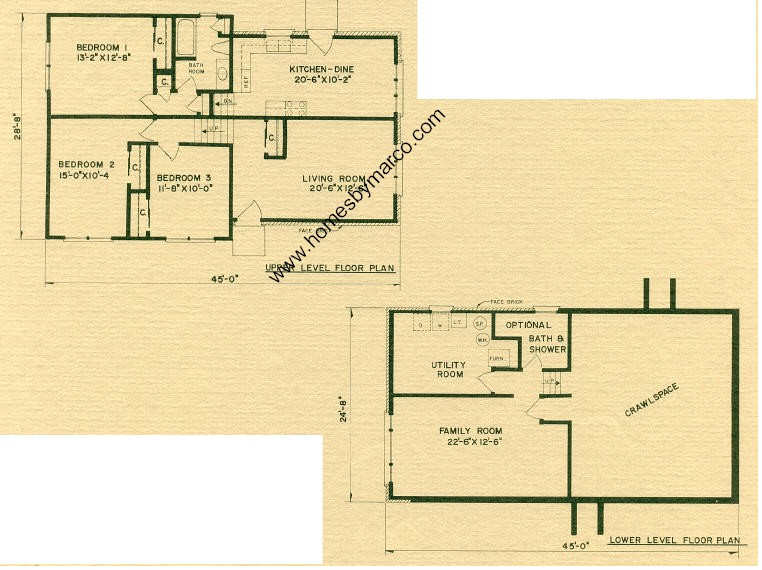 Rosewood model in the prairie view subdivision in alsip for Rosewood house plan